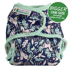 NEW! NEW! Best Bottoms Bigger Shell Cotton: Enchanted Unicorn Sage