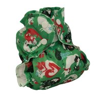 NEW! Applecheeks Envelope Cover: Size 2: Santa Paws