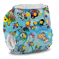 NEW! Rumparooz Onesize Pocket Nappy: Toki Sea
