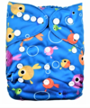 Alva Baby Onesize Nappy: Fishies