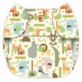NEW! Blueberry Capri Nappy Wrap: Jungle Jam