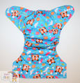 NEW! Alva Baby Onesize Nappy: Tiger Rawr