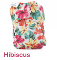 NEW! Bambooty Basics All-in-two with bamboo insert: Hibiscus