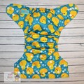 NEW! Alva Baby Onesize Nappy: Rubber Duckies