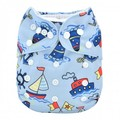 NEW! Alva Baby Onesize All-in-one: Sailboats