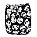 NEW! Alva Baby Onesize All-in-one: Skulls