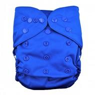 Alva Baby Onesize Nappy Wrap: Blue
