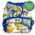 Best Bottoms Bigger Nappy Shell: Dino Mite