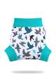 Petit Lulu Pull-up Wrap: Turquoise Birds