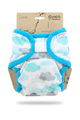 Petit Lulu Maxi XL Nappy Wrap: Clouds