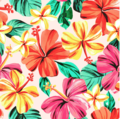 NEW! Bambooty Car Seat Protector: Hibiscus