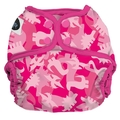 Imagine Baby Onesize Nappy Wrap: Pink Camosaur