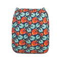 NEW! Alva Baby Onesize Nappy: Puffer Fish
