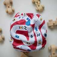 Buttons Newborn Wrap: Finish Line