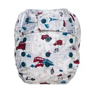 NEW! Grovia Onesize Hybrid All-in-two Nappy: Have Baby Will Travel