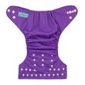 Alva Baby Onesize Nappy: Purple