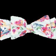 Bumblito Toddler Headband: Aqua Floral