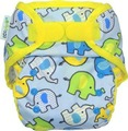 Ecopipo Onesize Wrap: Blue Elephants