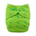 Alva Baby Onesize Nappy Wrap: Lime