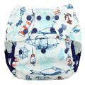 NEW! Blueberry Onesize Capri Nappy Wrap: Lighthouse