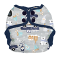 Imagine Baby Newborn Wrap: Gnome is Where the Heart Is
