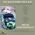 NEW! Try Bells Bumz For a Day (Onesize)