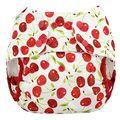 NEW! Blueberry Onesize Capri Nappy Wrap: Cherries