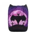NEW! Alva Baby Onesize Nappy: Halloween Vampire Bat