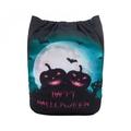 NEW! Alva Baby Onesize Nappy: Halloween Moonlit Pumpkin Patch