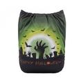 NEW! Alva Baby Onesize Nappy: Halloween Zombies
