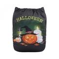 NEW! Alva Baby Onesize Nappy: Halloween Pumpkin Witch