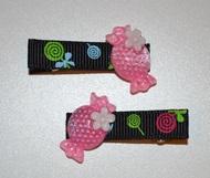 Hair clips - Sweetie