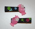 Hair clips - Sweetie