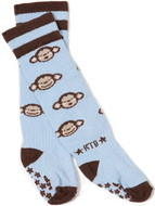 Rock-a-Thigh Baby Socks: Chunky Monkey