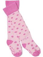 Rock-a-Thigh Baby Socks: Pink Polka