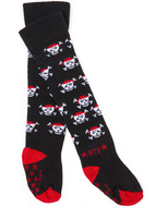 Rock-a-Thigh Baby Socks: Pirate