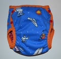 30% OFF! Dunk n Fluff Nappy Wrap - M - Astronauts