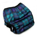 Peachy Green Switcheroo Nappy Wrap - Highland Games Kilt