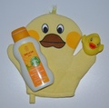 Baby Bathtime Gift Set - Duckies