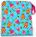 Monkey Foot Wet Bag Small - Owls on a Whim