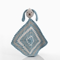 Pebble Organic Sleepy Bunny Doudous - Duck Egg Blue