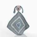 Pebble Organic Sleepy Bunny Doudous - Duck Egg Blue