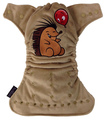Weenotions Onesize Front Snap Pocket Nappy - Hedgehog and Balloon