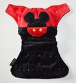Weenotions Onesize Front Snap Pocket Nappy - Retro Mouse