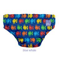 30% OFF! Bambino Mio Swim Nappy: Blue Whale