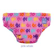 25% OFF! Bambino Mio Swim Nappy: Pink Whales
