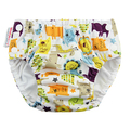 Blueberry Freestyle Swim Nappy: Jungle Jam