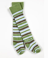 Rock-a-Thigh Baby Socks: Bean Sprout