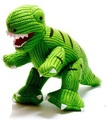 Best Years Mini T Rex Rattle: Green