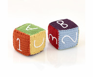 NEW! Pebble Crochet Building Block: Rainbow